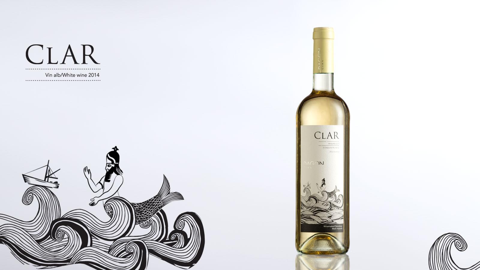 Sticla de vin Clar