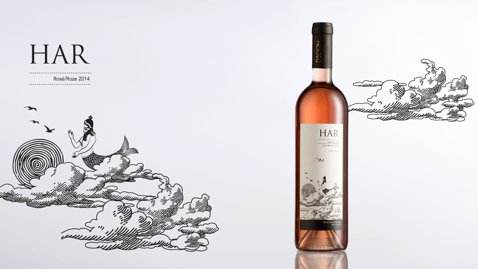 Sticla de vin Har