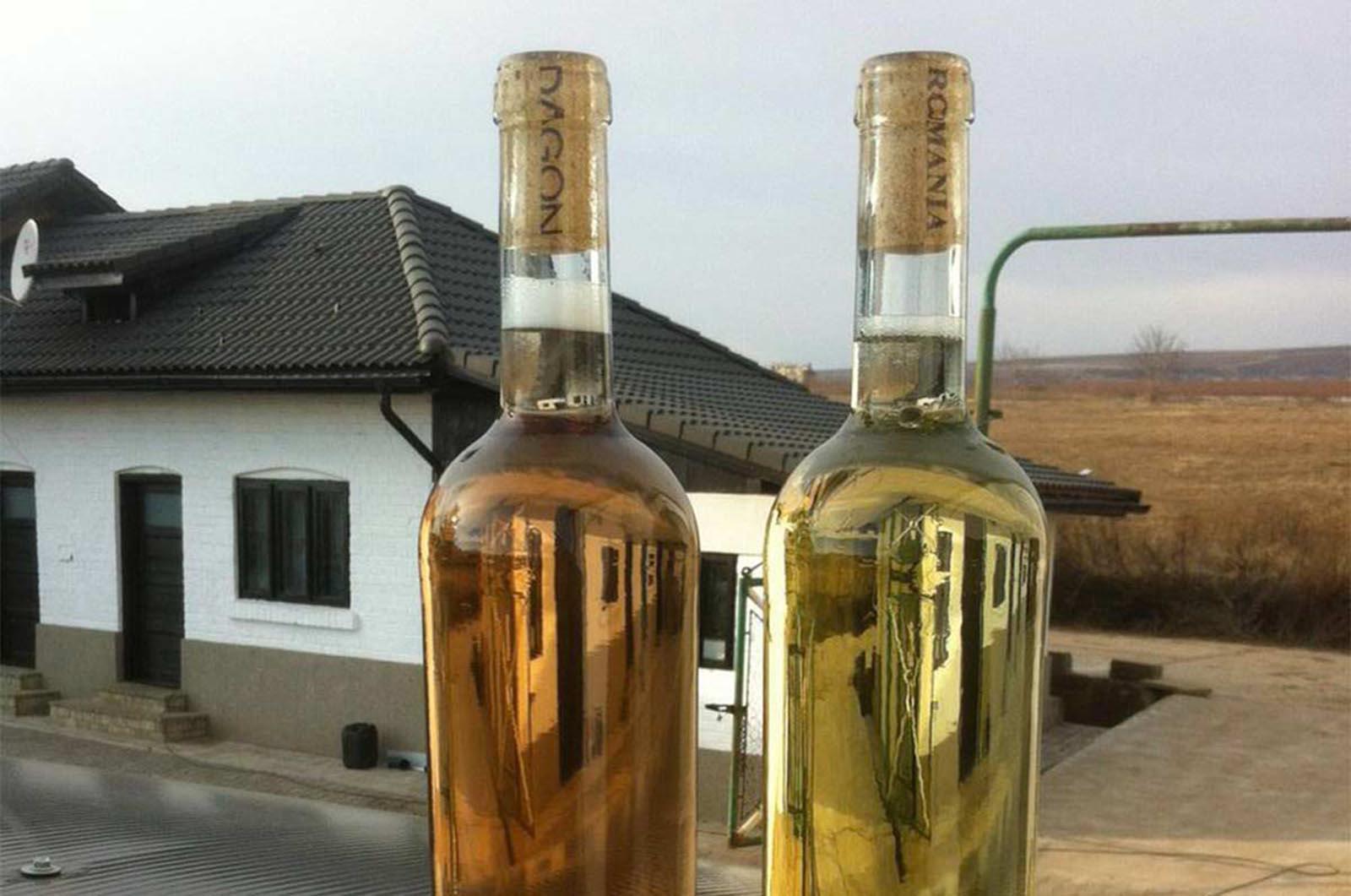 Doua sticle de vin ,Har & Clestar