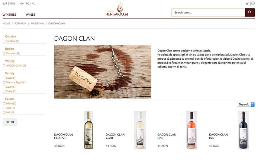 vinum hungaricum online shop
