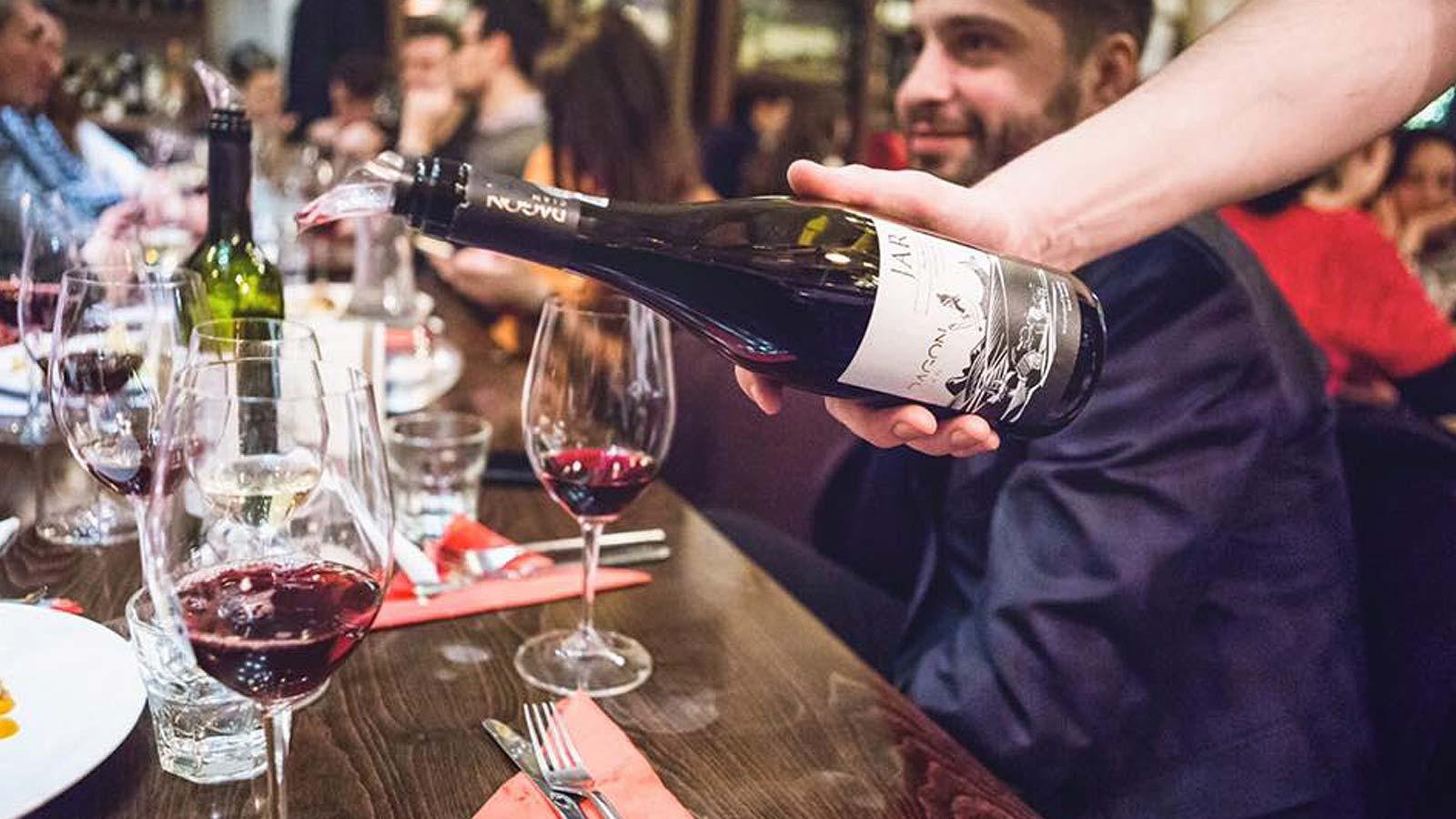 degustare vin dagon
