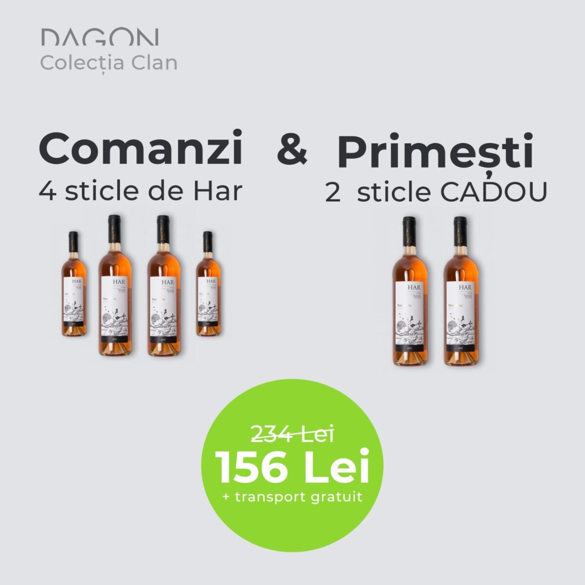 Dagon Har 2019 | Pachet 4 + 2 Sticle