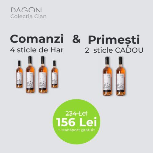 Dagon Har 2019   Pachet 4 + 2 Sticle